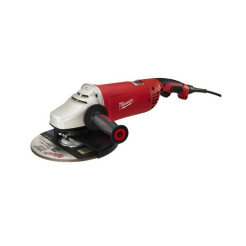Factory Reconditioned Milwaukee 6089-830 7 in./9 in. Roto-Lok Large Angle Grinder with Lock-On Button