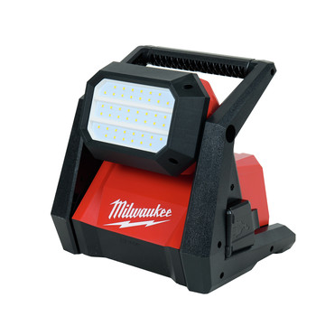 Milwaukee 2366-20 M18 ROVER Compact Lithium-Ion Dual Power 4000 Lumens Corded/ Cordless LED Flood Light (Tool Only)