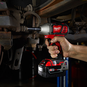 Milwaukee 2658-22 M18 Lithium-Ion 3/8 in. Impact Wrench Kit with Friction Ring image number 3