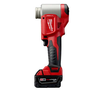 Milwaukee 2676-23 M18 FORCE LOGIC Cordless Lithium-Ion High Capacity Knockout Kit with EXACT 1/2 - 4 in. Knockout Set image number 2