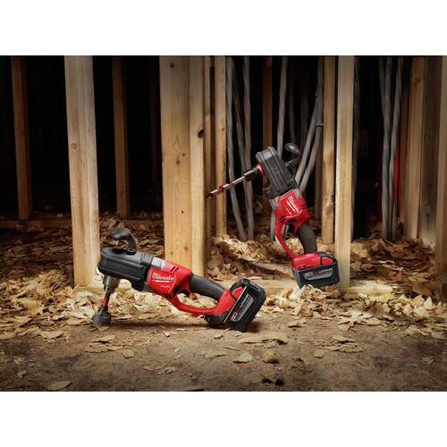 Milwaukee 2708-22HD M18 FUEL HOLE HAWG Lithium-Ion 1/2 in. Cordless Right Angle Drill Kit with QUIK-LOK (9 Ah) image number 9