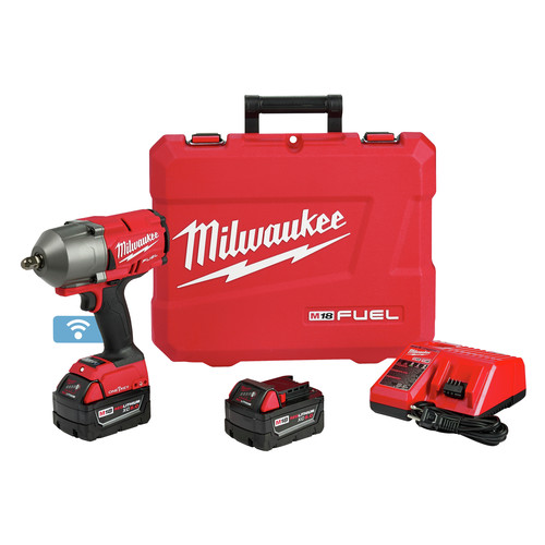 Factory Reconditioned Milwaukee 2862-82 M18 FUEL with ONEKEY High Torque Impact Wrench 1/2 in. Pin Detent Kit image number 0