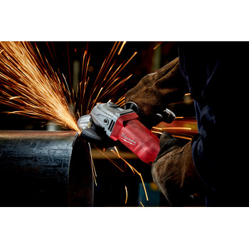 Milwaukee 6142-30 4-1/2 in. Small Angle Grinder Lock-On image number 2