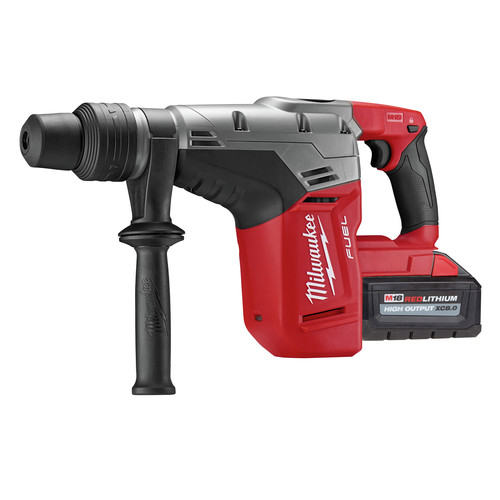 Milwaukee 2717-22HD M18 FUEL 9.0 Ah Cordless Lithium-Ion 1-9/16 in. Rotary Hammer Kit with 2 Batteries image number 1