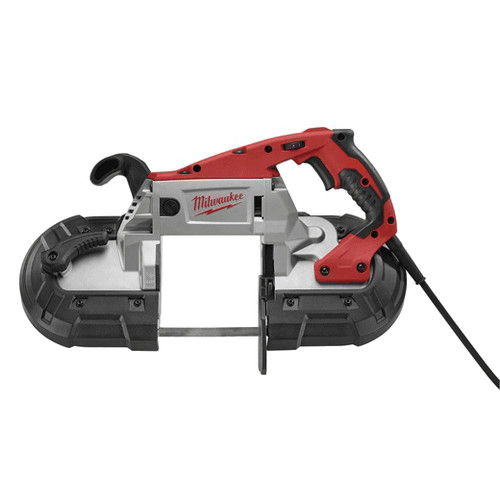Milwaukee 6238-21 Deep Cut Portable 2-Speed Band Saw (AC/DC) with Case