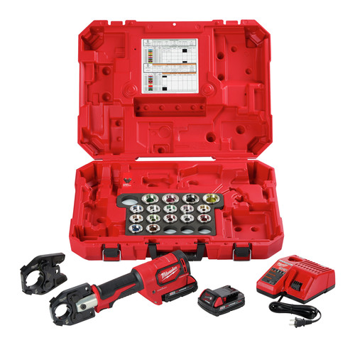 Milwaukee 2679-750A M18 FORCE LOGIC 600 MCM Al Crimper Kit with 750 MCM Expanded Jaw image number 0