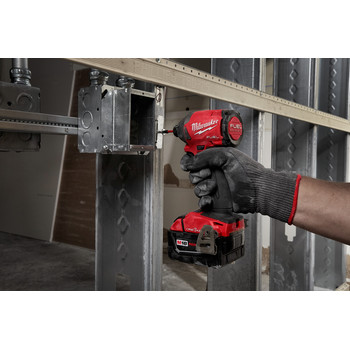 Milwaukee 2857-22CT M18 FUEL 1/4 in. Hex Impact Driver with ONE-KEY CP Kit image number 6