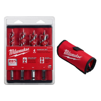 Milwaukee 48-13-4000 4 Pc Auger Bit Set