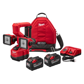Milwaukee 2122-22HD M18 18V 9.0 Ah Cordless Lithium-Ion Utility Bucket Light Kit image number 0