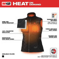 Milwaukee 333B-21L M12 12V Li-Ion Heated Women's AXIS Vest Kit - Large image number 3