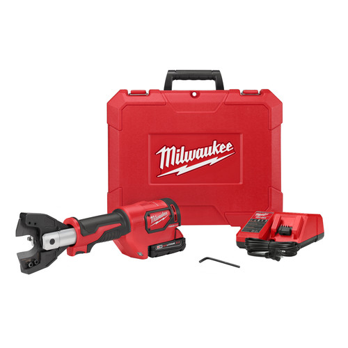 Factory Reconditioned Milwaukee 2672-81 18V 2.0 Ah Cordless Lithium-Ion Cable Cutter Kit with 750 MCM Cu Jaws image number 0