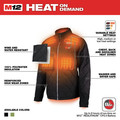 Milwaukee 203B-203X M12 12V Li-Ion Heated AXIS Jacket (Jacket Only) - 3XL image number 3