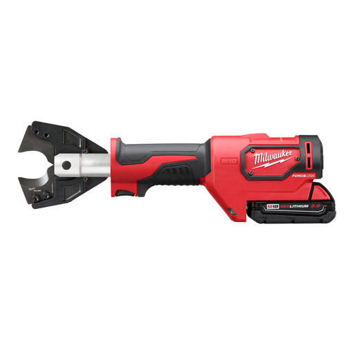 Factory Reconditioned Milwaukee 2672-81 18V 2.0 Ah Cordless Lithium-Ion Cable Cutter Kit with 750 MCM Cu Jaws image number 1