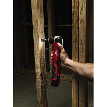 Milwaukee 2415-21 M12 Lithium-Ion 3/8 in. Cordless Right Angle Drill Driver Kit (1.5 Ah) image number 5