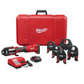 Milwaukee 2773-22 M18 FORCE LOGIC Press Tool Kit with 1/2 in. - 2 in. Jaws