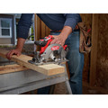 Factory Reconditioned Milwaukee 2730-82 M18 FUEL Cordless 6-1/2 in. Circular Saw with 2 REDLITHIUM Batteries image number 6