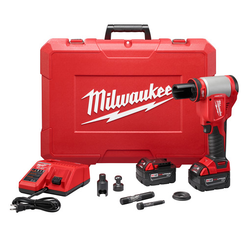 Milwaukee 2676-20 M18 FORCE LOGIC Cordless Lithium-Ion High Capacity Knockout Kit image number 0