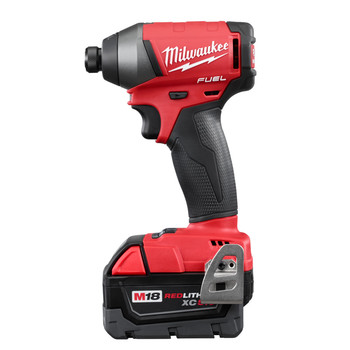 Milwaukee 2753-22 M18 FUEL 5.0 Ah Lithium-Ion 1/4 in. Hex Impact Driver Kit image number 2
