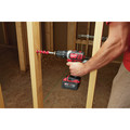 Milwaukee 2607-22 M18 Lithium-Ion XC Compact 1/2 in. Cordless Hammer Drill Driver Kit (3 Ah) image number 4