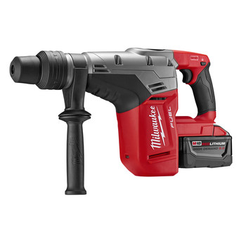 Factory Reconditioned Milwaukee 2717-82HD M18 FUEL 9.0 Ah Lithium-Ion 1-9/16 in. Rotary Hammer Kit with 2 Batteries image number 2
