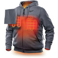 Milwaukee 302G-202X M12 12V Li-Ion Heated Hoodie (Jacket Only) - 2XL image number 2