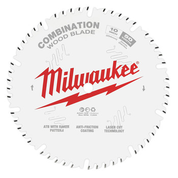 Milwaukee 48-40-1026 10 in. 50T Combination Circular Saw Blade