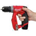 Milwaukee 2505-22 M12 FUEL Lithium-Ion 3/8 in. Cordless Installation Drill Driver Kit (2 Ah) image number 16