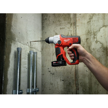 Milwaukee 2412-20 M12 Lithium-Ion 1/2 in. SDS-Plus Rotary Hammer Kit (Tool Only) image number 2