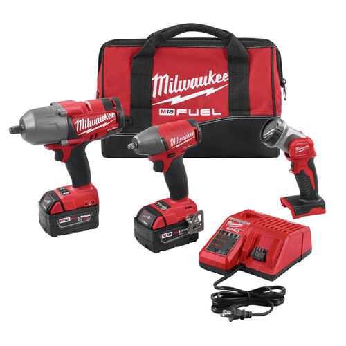 Milwaukee 2896-23 M18 FUEL 3/8 in. Impact Wrench with Friction ring