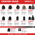 Milwaukee 302G-202X M12 12V Li-Ion Heated Hoodie (Jacket Only) - 2XL image number 11