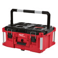 Milwaukee 48228426 & 48228425 & 48228424 PACKOUT 3 Piece Kit Rolling Tool Box, Large Tool Box, and Tool Box image number 2