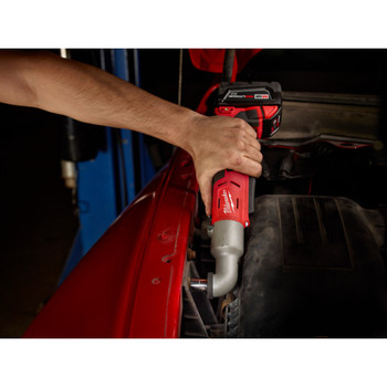 Milwaukee 2667-22 M18 Lithium-Ion 1/4 in. 2-Speed Right Angle Impact Driver Kit image number 4