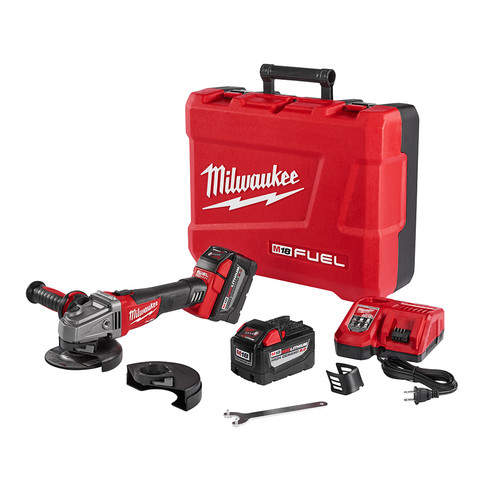 Milwaukee 2781-22HD M18 FUEL 5 in. Grinder Kit with Lock-On Slide Switch image number 0