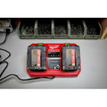 Milwaukee 48-59-1802 M18 Dual Bay Simultaneous Rapid Lithium-Ion Charger image number 16