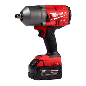 Milwaukee 2767-22GG M18 FUEL 1/2 in. High Torque Impact Wrench with Friction Ring and Free Grease Gun Kit image number 2