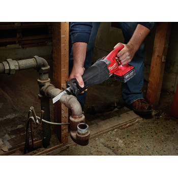 Factory Reconditioned Milwaukee 2721-82 M18 FUEL XC 5.0 Ah Cordless Lithium-Ion SAWZALL Reciprocating Saw Kit with ONE-KEY image number 2