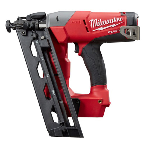 Factory Reconditioned Milwaukee 2742-80 FUEL M18 18V Cordless Lithium-Ion 16-Gauge Brushless Angled Finish Nailer (Bare Tool)