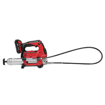 Milwaukee 2646-22CT M18 18V Cordless Lithium-Ion 2-Speed Grease Gun with 2 Batteries image number 3