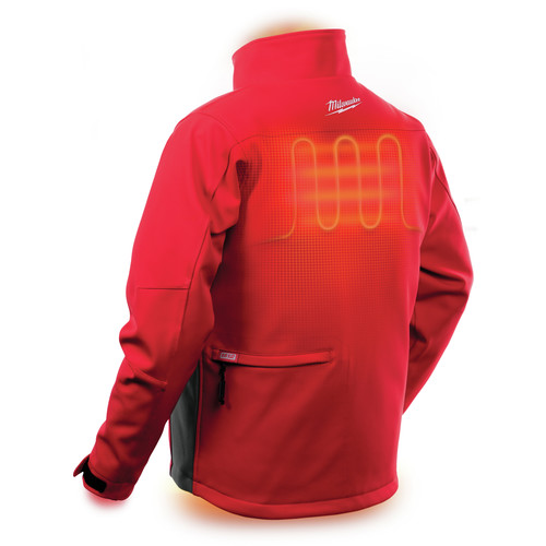 Milwaukee 202R-202X M12 12V Li-Ion Heated ToughShell Jacket (Jacket Only) - 2XL image number 5