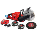 Milwaukee 2786-22HD M18 FUEL Lithium-Ion 9 in. Cut-Off Saw Kit with ONE-KEY (12 Ah) image number 1