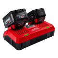 Milwaukee 48-59-1802 M18 Dual Bay Simultaneous Rapid Lithium-Ion Charger image number 3