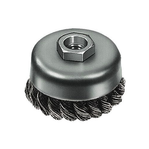 Milwaukee 48-52-5040 3 in. Knotted Wire Cup Brush image number 0