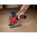 Milwaukee 2445-21 M12 12V Cordless Lithium-Ion High Performance Hybrid Grip Jig Saw image number 9