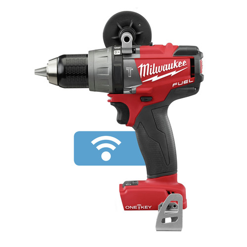 Factory Reconditioned Milwaukee 2706-80 M18 FUEL Cordless Lithium-Ion 1/2 in. Hammer Drill Driver with ONE-KEY Connectivity (Bare Tool)