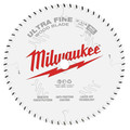 Milwaukee 48-40-0730 7-1/4 in. 60T Ultra Fine Finish Circular Saw Blade image number 0