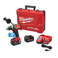 Milwaukee 2705-22 M18 FUEL Lithium-Ion 1/2 in. Cordless Drill Driver Kit with ONE-KEY (5 Ah)