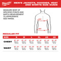 Milwaukee 203B-203X M12 12V Li-Ion Heated AXIS Jacket (Jacket Only) - 3XL image number 4