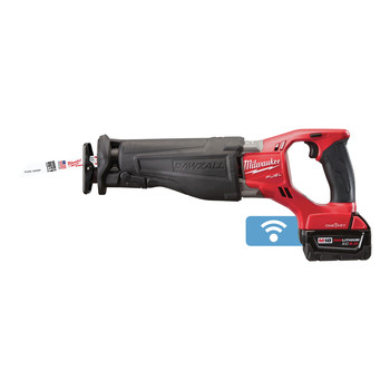 Factory Reconditioned Milwaukee 2721-82 M18 FUEL XC 5.0 Ah Cordless Lithium-Ion SAWZALL Reciprocating Saw Kit with ONE-KEY image number 1