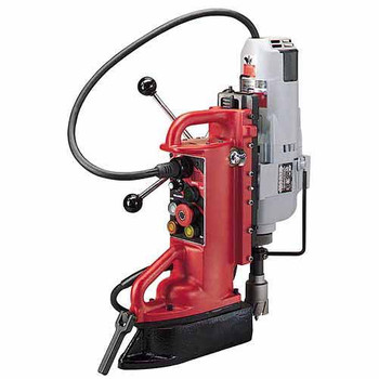 Milwaukee 4208-1 Adjustable Position Magnetic Drill Press with #3 MT Motor image number 0