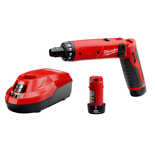 Milwaukee 2101-22 M4 4V Lithium-Ion 1/4 in. Hex Screwdriver Kit image number 0